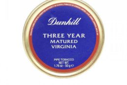 dunhill 3 year matured virginia